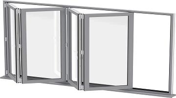 تولید انواع درب و پنجره UPVC